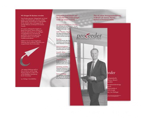 Folder der Proceeder Unternehmensberatungs GmbH