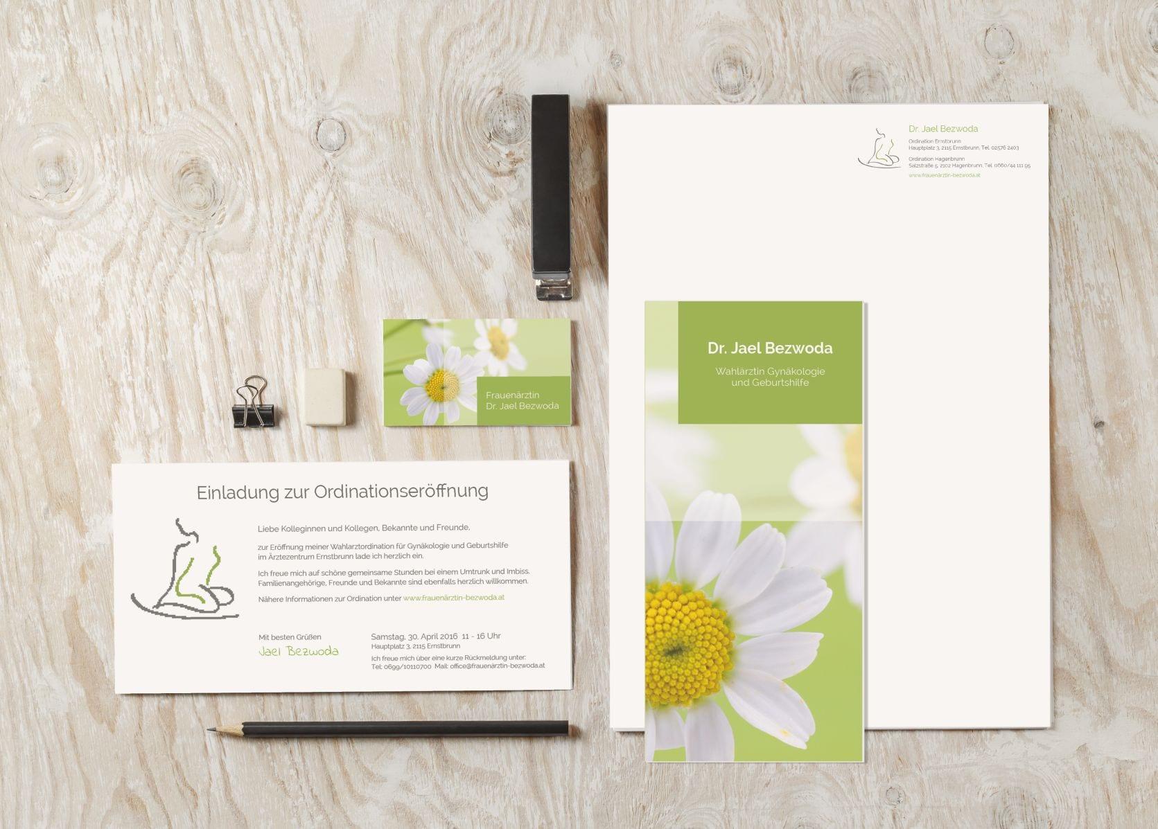 Branding - Geschäftsdrucksorten - rechnerherz