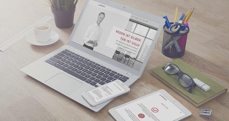 Online Marketing - Website erstellen - rechnerherz