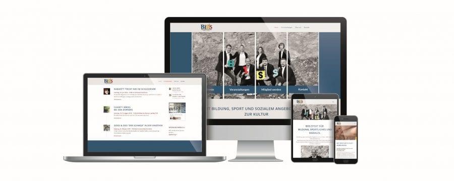 MitBiSS Webseite by rechnerherz