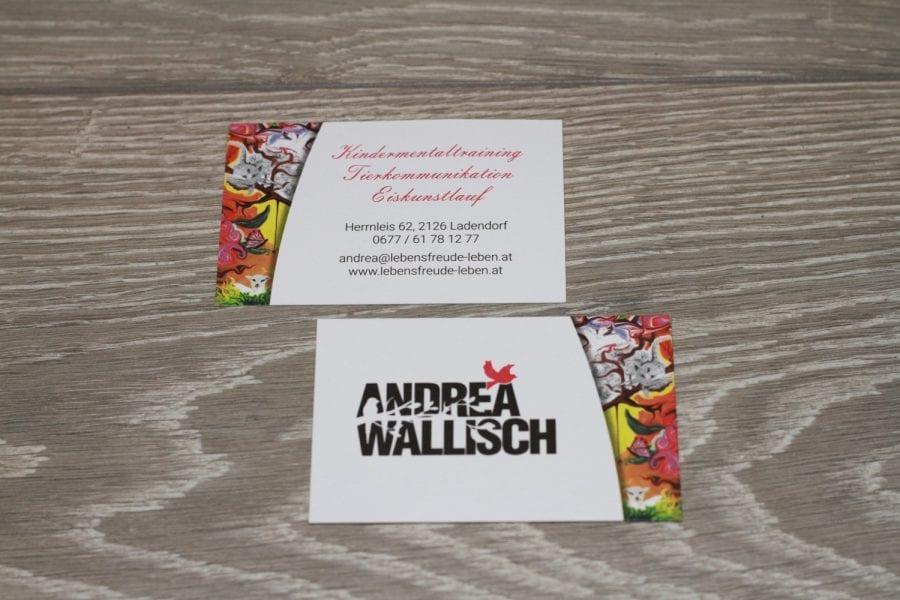Andrea Wallisch Visitenkarte