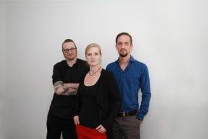 Team rechnerherz: Bernd Gossi, Anita Stundner, Christoph Berdenich