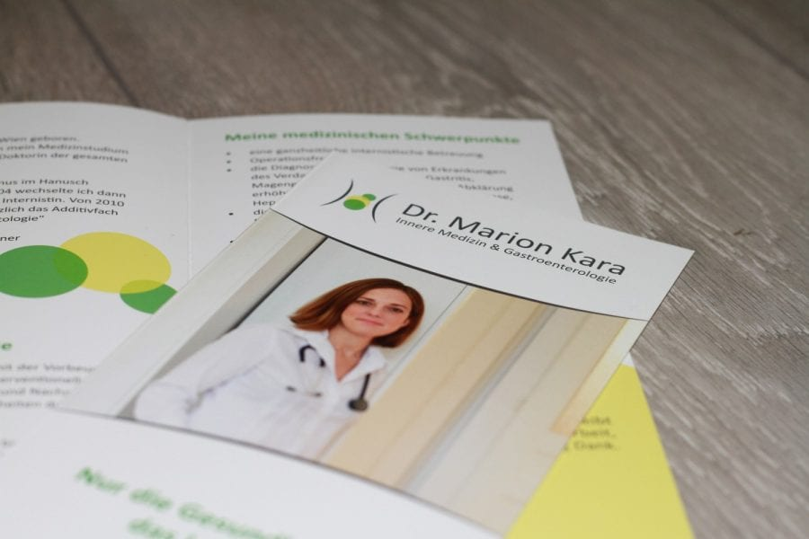 Dr. Marion Kara Informationsfolder