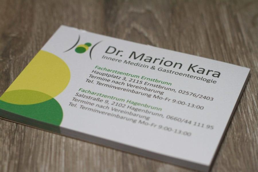 Dr. Marion Kara Abreißblock