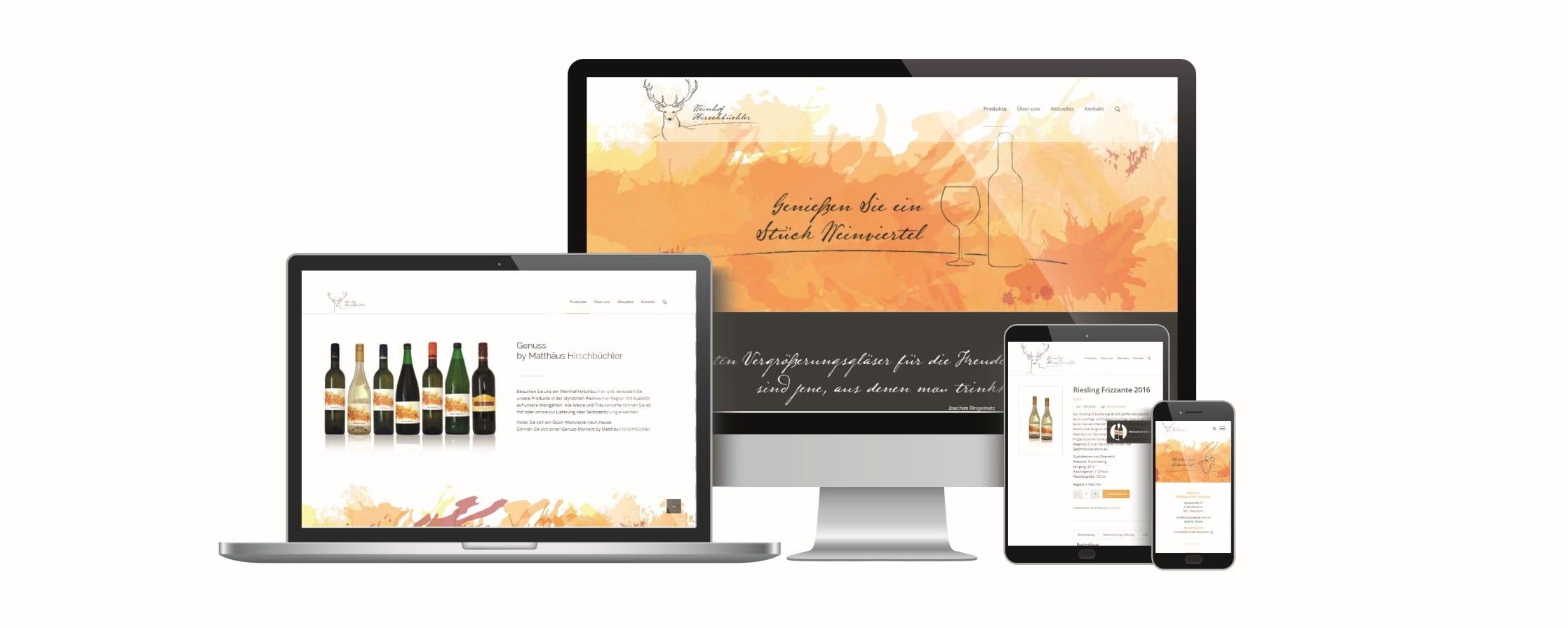Hirschbüchler Webseite - rechnerherz