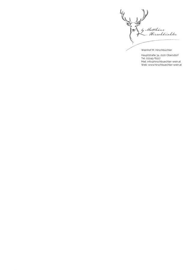 Briefpapier Weinhof Hirschbüchler