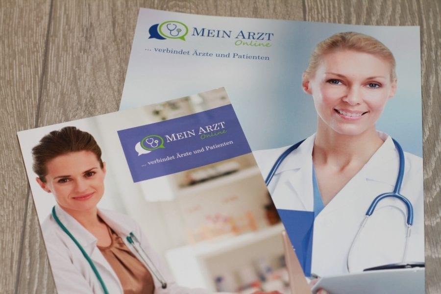 Mein Arzt Online Informationsbroschüre