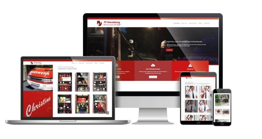 Webseite - FF Hornsburg