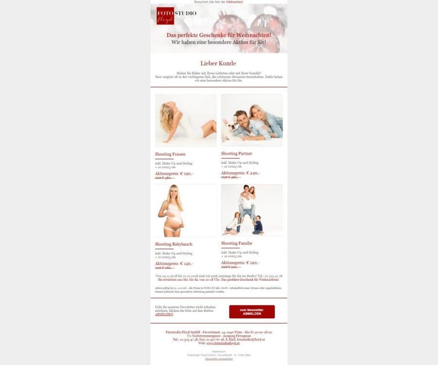 Newsletter desktop - Einrichtung und Versand