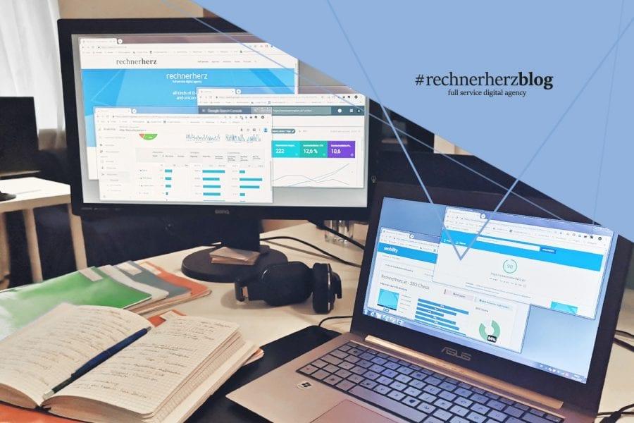 Titelbild für Blog: neue Webseite online