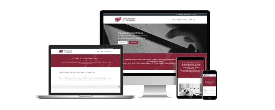 Webseiten Erstellung Haiden Menhofer