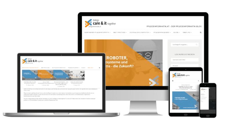 Päsentation Webseite-Pflegeinformatik